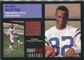 2001 Fleer Tradition Rookie Retro Threads #54 Reggie Wayne Santana Moss Dual Football