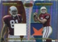 2004 Bowman's Best Best Coverage Jersey Duals #BCBF Anquan Boldin Larry Fitzgerald 7/25 Patch