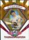 2009 Topps Legends Chrome Target Cereal Gold Refractors #GR18 Thurman Munson