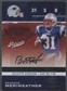 2007 Playoff Contenders #118 Brandon Meriweather Rookie Auto