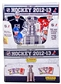 2012/13 Panini Hockey Sticker Combo Display Box (100 Stickers/20 Albums)