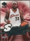 2007/08 Upper Deck Sweet Shot Sweet Stitches #LJ LeBron James