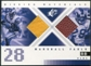 2000 Upper Deck SPx Winning Materials #WMMF Marshall Faulk Jersey Football