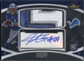 2010 Finest #JB Jahvid Best Rookie Jumbo Patch Auto #3/5