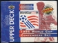 1994 Upper Deck World Cup English/Spanish Contenders Soccer Retail Box