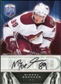 2009/10 Upper Deck Be A Player Signatures #SMB Mikkel Boedker Autograph
