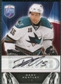 2009/10 Upper Deck Be A Player Signatures #SHT Dany Heatley Autograph