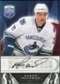 2009/10 Upper Deck Be A Player Signatures #SRA Mason Raymond Autograph