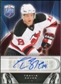2009/10 Upper Deck Be A Player Signatures #STZ Travis Zajac Autograph