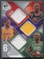 2009/10 SP Game Used Jordan, Johnson, Bryant, Howard, O'Neal, & Garnett Jersey #54/99