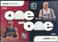 2008/09 SkyBox One on One Dual Memorabilia #OOKC Jason Kidd Vince Carter