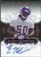 2008 Exquisite Collection Silver Holofoil #121 Erin Henderson RC Autograph 24/30