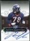 2008 Exquisite Collection Silver Holofoil #140 Ryan Clady Autograph /30