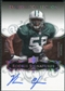 2008 Exquisite Collection Silver Holofoil #142 Vernon Gholston Autograph /30