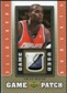 2007/08 Upper Deck UD Game Patch #EO Emeka Okafor