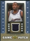 2007/08 Upper Deck UD Game Patch #GA Gilbert Arenas