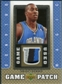 2007/08 Upper Deck UD Game Patch #HO Dwight Howard