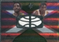 2008/09 Upper Deck SPx Winning Materials Combos #WMCDG Jeff Green Kevin Durant