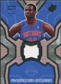 2007/08 Upper Deck SPx Flashback Fabrics #AM Antonio McDyess