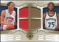 2007/08 Upper Deck Ultimate Collection Matchups Gold #PJ Tayshaun Prince Al Jefferson /50