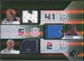 2008/09 Upper Deck SPx Winning Materials Trios #WMTKNH Dirk Nowitzki Josh Howard Jason Kidd