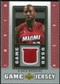 2007/08 Upper Deck UD Game Jersey #AM Alonzo Mourning
