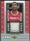 2007/08 Upper Deck UD Game Jersey #HE Luther Head