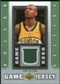 2007/08 Upper Deck UD Game Jersey #RA Ray Allen