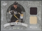 2008/09 Artifacts #TSDJS Jordan Staal Treasured Swatches Dual Silver Jersey #035/100