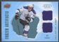 2008/09 Artifacts #FADAK Anze Kopitar Frozen Artifacts Dual Blue Jersey #29/50