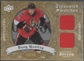 2008/09 Artifacts #TSDDH Dany Heatley Treasured Swatches Dual Gold Jersey #73/75