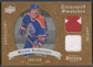 2008/09 Artifacts #TSDGA Glenn Anderson Treasured Swatches Dual Jersey #185/199