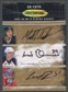 2007/08 Be A Player #6SYSTR Lucic Mueller Patrick Kane Niskanen Enstrom Carey Price Auto #5/8