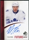 2010/11 Upper Deck SP Authentic #250 Nazem Kadri Autograph /999