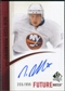 2010/11 Upper Deck SP Authentic #264 Nino Niederreiter Autograph /999