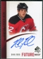 2010/11 Upper Deck SP Authentic #267 Nick Palmieri Autograph /999