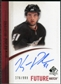2010/11 Upper Deck SP Authentic #308 Kyle Palmieri Autograph /999