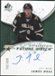 2008/09 Upper Deck SP Authentic #198 James Neal RC Autograph /999