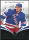2010/11 Upper Deck Ultimate Collection #88 Mats Zuccarello-Aasen RC /399