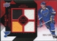 2008/09 Upper Deck Black Diamond Jerseys Quad Ruby #BDJBB Brad Boyes /100