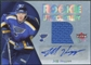 2005/06 Fleer Ultra Rookie Uniformity Jersey Autographs #ARUHO Jeff Hoggan /25