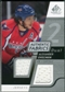 2008/09 Upper Deck SP Game Used Dual Authentic Fabrics #AFAO Alexander Ovechkin