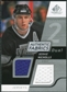 2008/09 Upper Deck SP Game Used Dual Authentic Fabrics #AFBN Bernie Nicholls