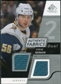 2008/09 Upper Deck SP Game Used Dual Authentic Fabrics #AFBR Steve Bernier