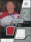 2008/09 Upper Deck SP Game Used Dual Authentic Fabrics #AFBS Billy Smith