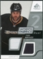 2008/09 Upper Deck SP Game Used Dual Authentic Fabrics #AFBZ Todd Bertuzzi