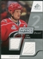 2008/09 Upper Deck SP Game Used Dual Authentic Fabrics #AFES Eric Staal