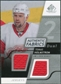 2008/09 Upper Deck SP Game Used Dual Authentic Fabrics #AFHO Tomas Holmstrom