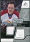 2008/09 Upper Deck SP Game Used Dual Authentic Fabrics #AFHW Dale Hawerchuk