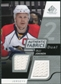 2008/09 Upper Deck SP Game Used Dual Authentic Fabrics #AFOJ Olli Jokinen